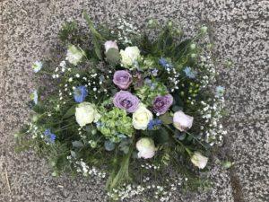 Blommor till begravning