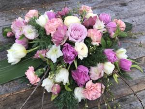 tulpaner till begravning