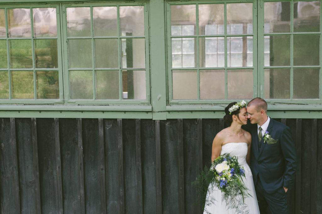 Boho brudbukett till bohemiskt bröllop